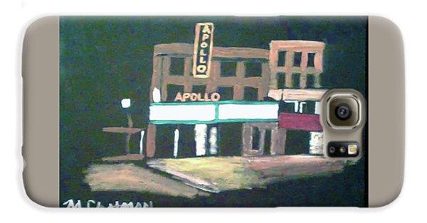 Apollo Theater Galaxy S6 Case - Apollo Theater New York City by Michael Chatman