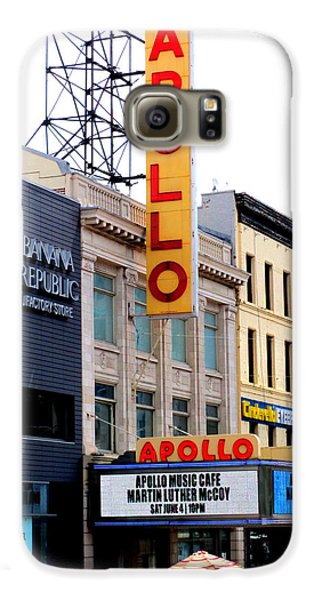 Harlem Galaxy S6 Case - Apollo Theater by Randall Weidner