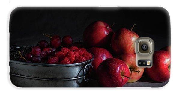 Apples And Berries Panoramic Galaxy S6 Case by Tom Mc Nemar