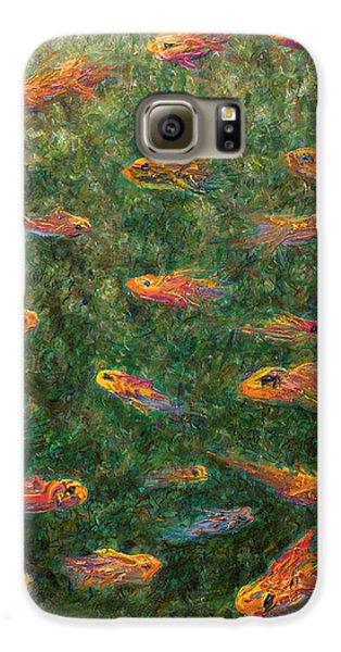 Goldfish Galaxy S6 Case - Aquarium by James W Johnson