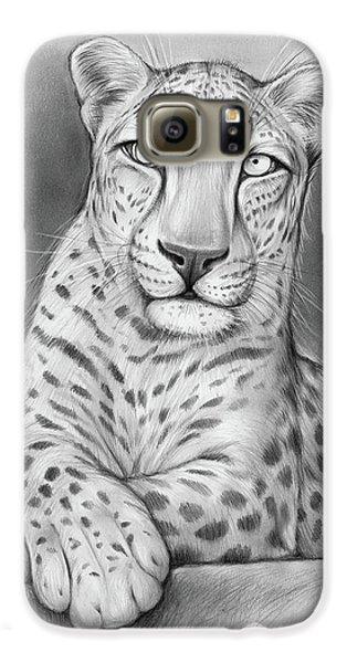 Leopard Galaxy S6 Case - Arabian Leopard by Greg Joens