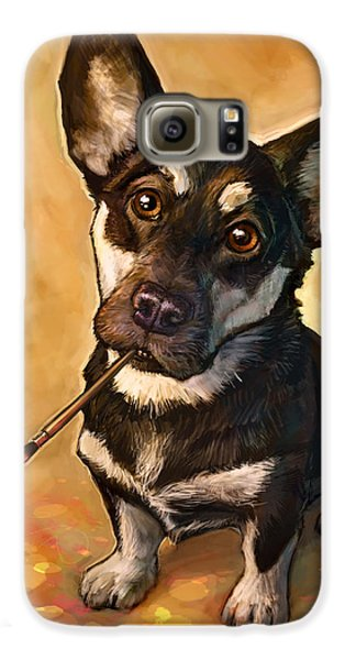 Dog Galaxy S6 Case - Arfist by Sean ODaniels