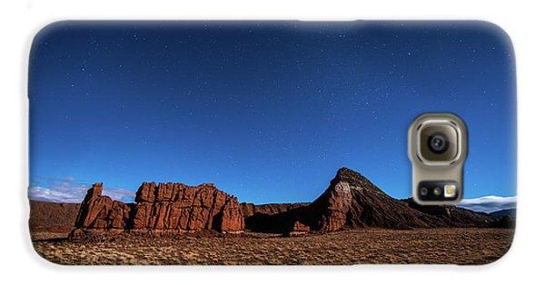 Arizona Landscape At Night Galaxy S6 Case