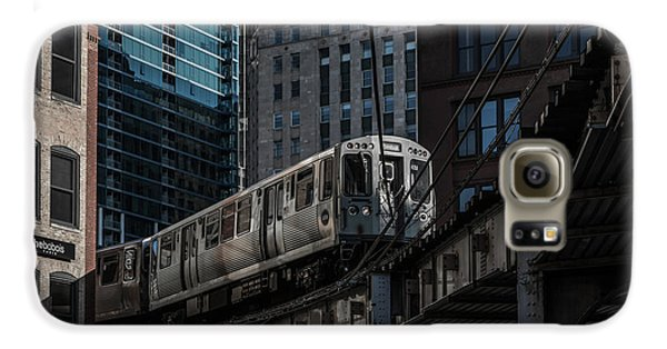 Around The Corner, Chicago Galaxy S6 Case by Reinier Snijders