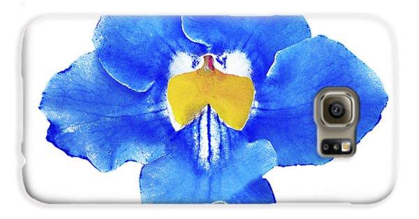 Art Blue Beauty Galaxy S6 Case