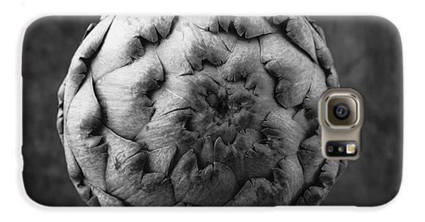 Artichoke Black And White Still Life Two Galaxy S6 Case by Edward Fielding