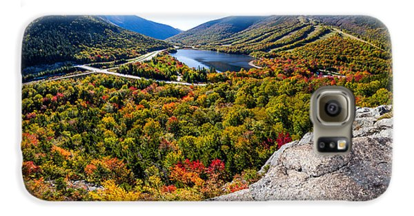 Artists Bluff, Franconia Notch Galaxy S6 Case