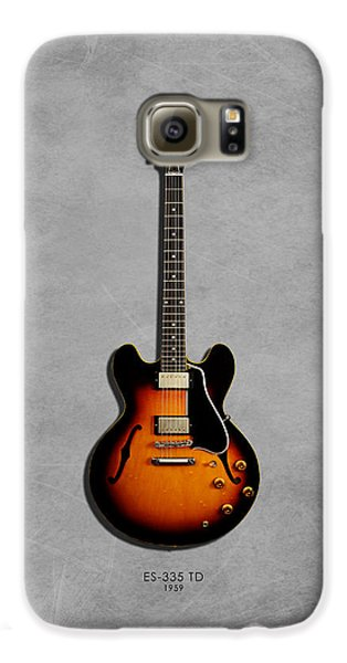 Gibson Es 335 1959 Galaxy S6 Case by Mark Rogan
