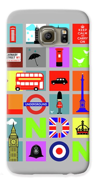 London Galaxy S6 Case - London by Mark Rogan
