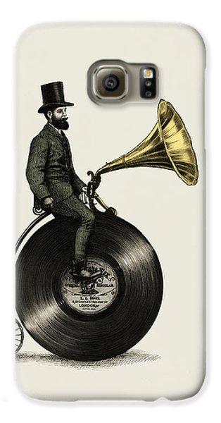 Music Man Galaxy S6 Case by Eric Fan