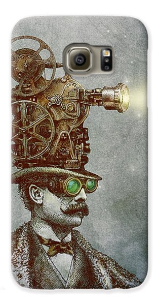 Magician Galaxy S6 Case - The Projectionist by Eric Fan