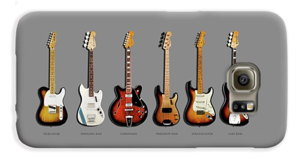 Fender Guitar Collection Galaxy S6 Case by Mark Rogan