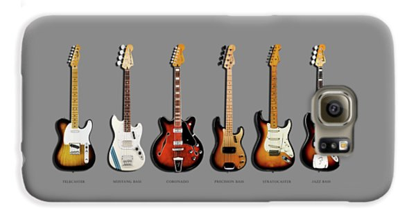 Jazz Galaxy S6 Case - Fender Guitar Collection by Mark Rogan