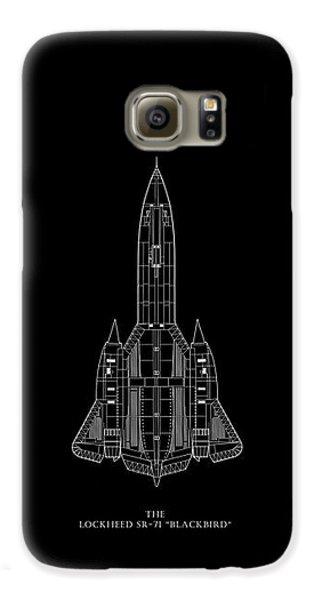 The Lockheed Sr-71 Blackbird Galaxy S6 Case by Mark Rogan