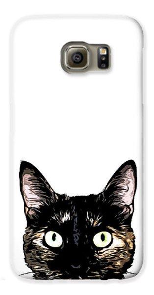 Peeking Cat Galaxy S6 Case