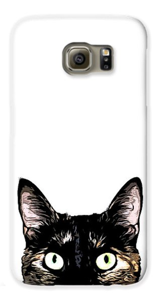 Peeking Cat Galaxy S6 Case