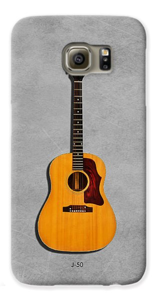 Gibson J-50 1967 Galaxy S6 Case by Mark Rogan