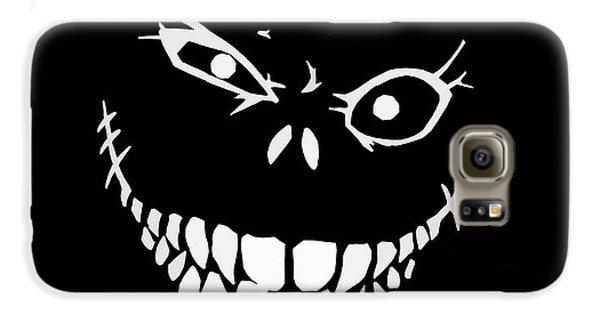 Bass Galaxy S6 Case - Crazy Monster Grin by Nicklas Gustafsson