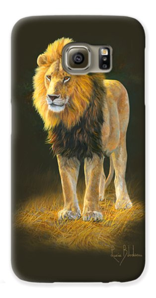 Lion Galaxy S6 Case - In His Prime by Lucie Bilodeau