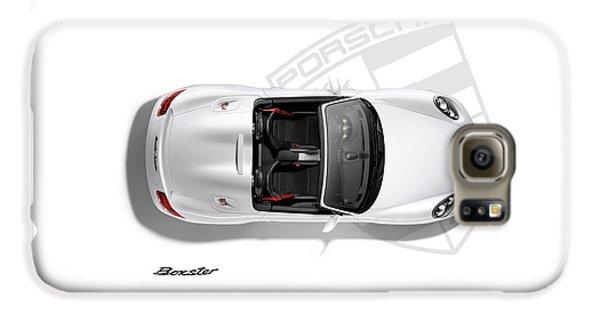 Porsche Boxster Galaxy S6 Case by Mark Rogan