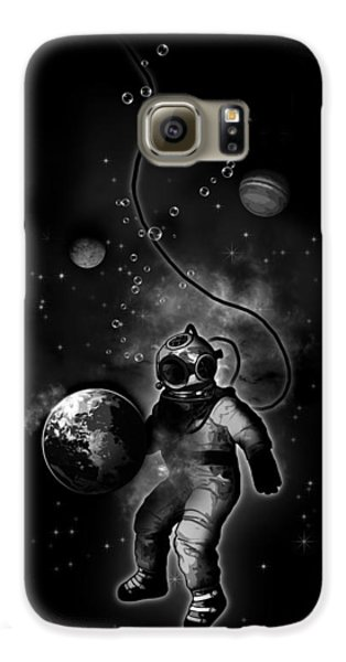 Deep Sea Space Diver Galaxy S6 Case