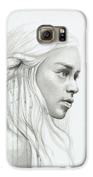 Dragon Galaxy S6 Case - Daenerys Mother Of Dragons by Olga Shvartsur