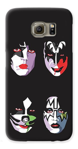 Music Galaxy S6 Case - Kiss by Troy Arthur Graphics
