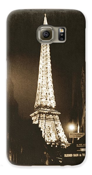 Postcard From Paris- Art By Linda Woods Galaxy S6 Case by Linda Woods