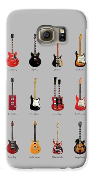Guitar Icons No1 Galaxy S6 Case by Mark Rogan