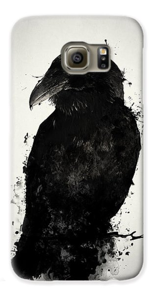 Crow Galaxy S6 Case - The Raven by Nicklas Gustafsson