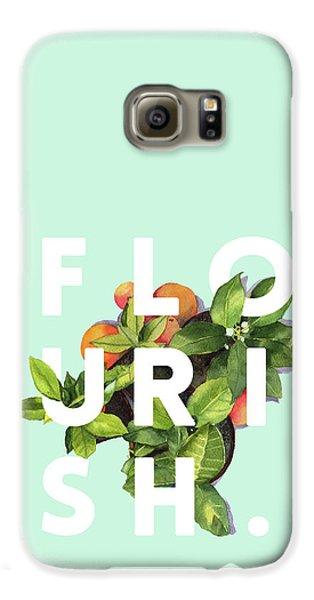 Flowers Galaxy S6 Case - Flourish by Uma Gokhale