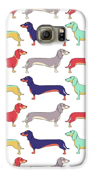 Dachshunds Galaxy S6 Case