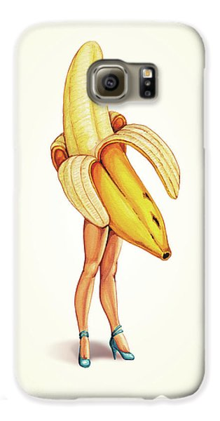 Fruit Stand - Banana Galaxy S6 Case by Kelly Gilleran