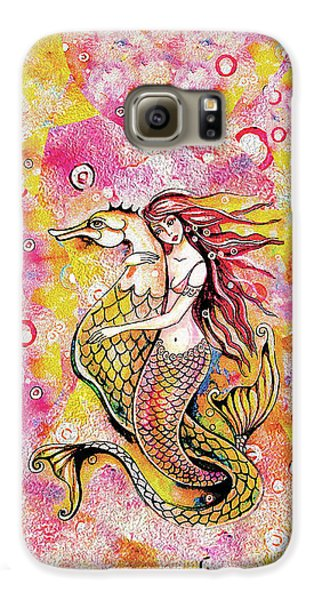 Black Sea Mermaid Galaxy S6 Case
