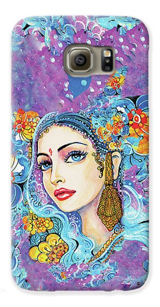 Galaxy S6 Case featuring the painting The Veil Of Aish by Eva Campbell