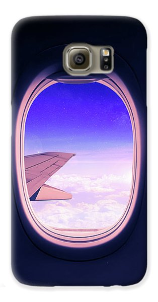 Airplane Galaxy S6 Case - Travel The World by Nicklas Gustafsson