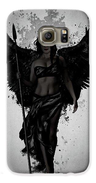 Swan Galaxy S6 Case - Dark Valkyrja by Nicklas Gustafsson