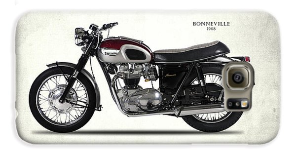 Triumph Bonneville 1968 Galaxy S6 Case by Mark Rogan