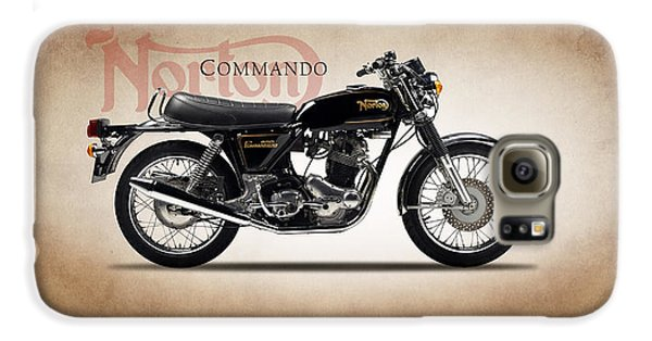 Norton Commando 1974 Galaxy S6 Case by Mark Rogan