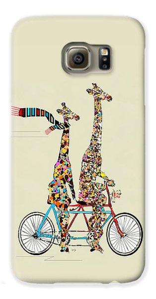 Giraffe Days Lets Tandem Galaxy S6 Case by Bri B