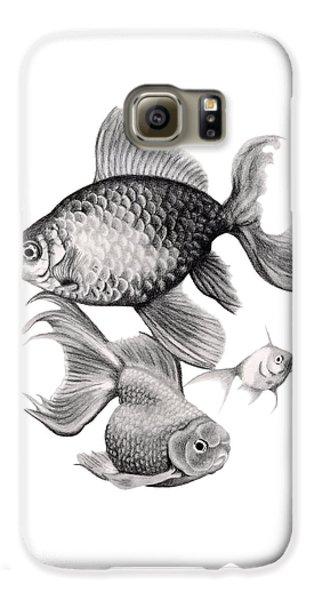 Goldfish Galaxy S6 Case - Goldfish by Sarah Batalka