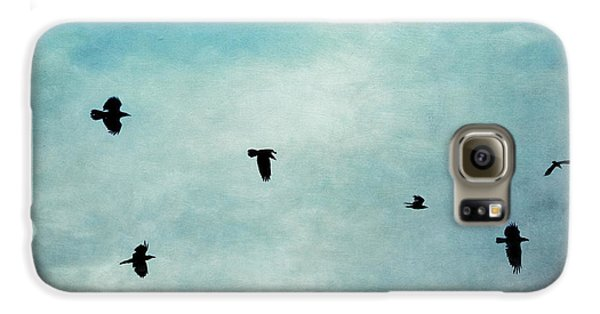 As The Ravens Fly Galaxy S6 Case by Priska Wettstein