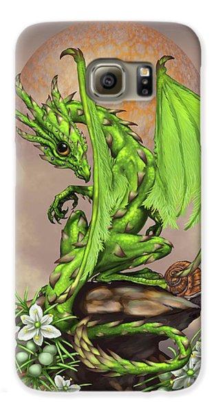 Asparagus Galaxy S6 Case - Asparagus Dragon by Stanley Morrison