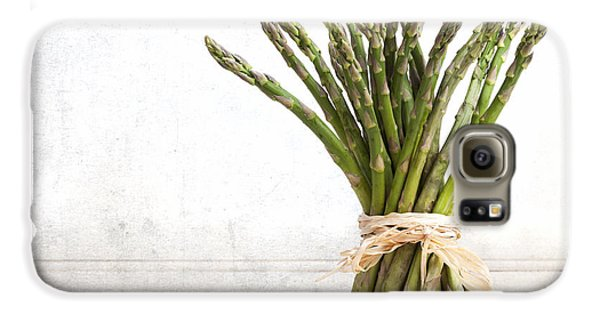 Asparagus Vintage Galaxy S6 Case by Jane Rix