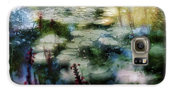 Galaxy S6 Case featuring the photograph At Claude Monet's Water Garden 2 by Dubi Roman