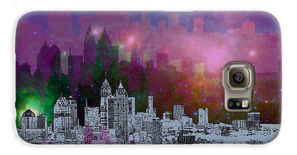 City Scenes Galaxy S6 Case - Atlanta Skyline 7 by Alberto RuiZ