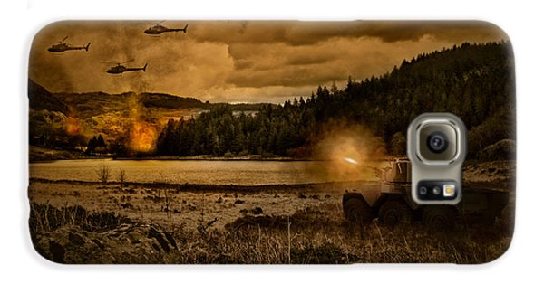Attack At Nightfall Galaxy S6 Case by Amanda Elwell