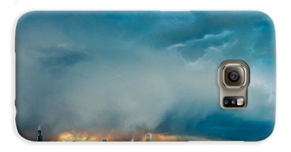 Attention Seeking Clouds Galaxy S6 Case by Cory Dewald