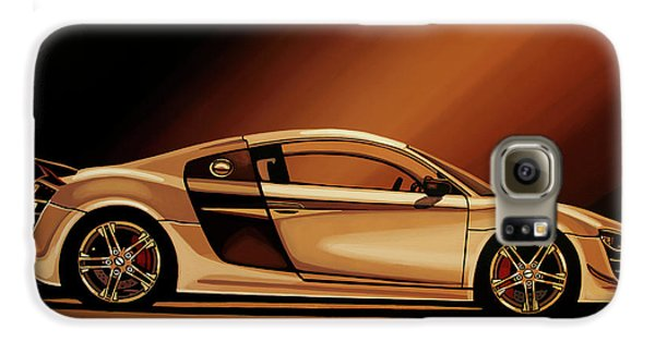 Automobile Galaxy S6 Case - Audi R8 2007 Painting by Paul Meijering