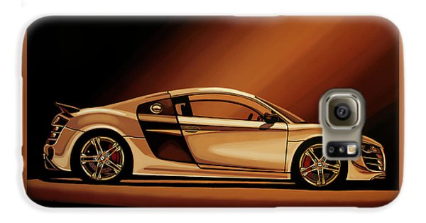 Car Galaxy S6 Case - Audi R8 2007 Painting by Paul Meijering